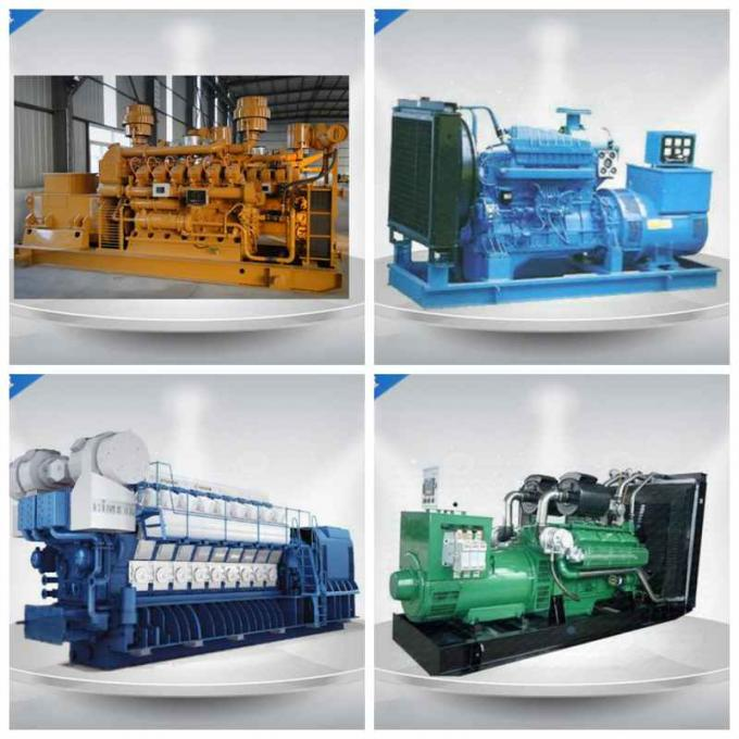 Open Synchronous Natural Gas Powered Generators 6 Cylinders With Weichai Engine