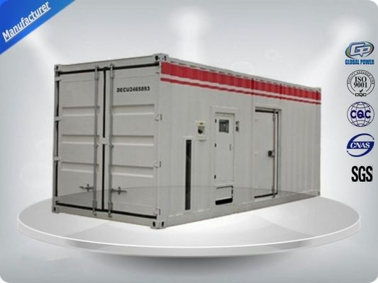 Çin Container type Cummins diesel genset power with prime power 900 kw Tedarikçi