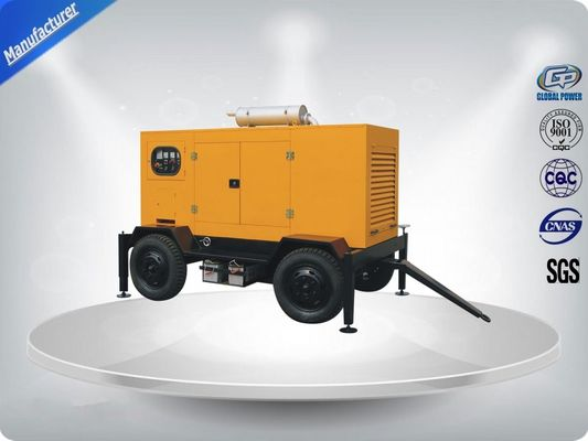 Çin 144kw / 180kva  Diesel Trailer Generator Easy Moving Powered By Perkins Engine Distribütör