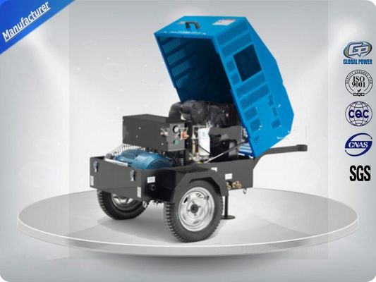 Çin 22Kw / 30Hp Portable Electric Air Compressor With Ac Output Power /  Direct Drive Screw Distribütör